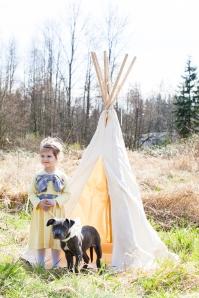 fall 2013 teepee puppy