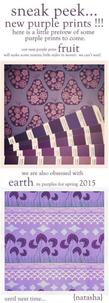 purple print inspiration